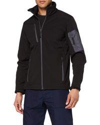 Regatta Professional Arcola Wind Resistant 3-Layer Waterproof Membrame Softshell Jacket Giacca - Nero
