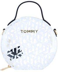 Tommy Hilfiger Sac BANDOULIÈRE Icons Transparent - Blanc