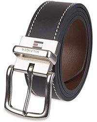 Tommy Hilfiger Contrast-stitching Jean Belt - Multicolour