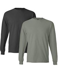 Men's Gray Xbyo Long Sleeve Tee