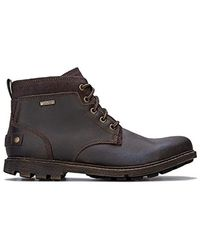 Rockport Rugged Bucks Ii Chukka Boots Brown