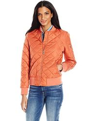 7 For All Mankind - Water Repellent Nylon Bomber - Lyst