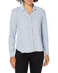 Esprit Collection 011EO1F303 Camicia da Donna - Blu