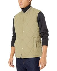 Goodthreads - Quilted Liner Vest Outerwear-Vests - Lyst