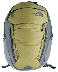 The North Face Surge Tnf Fir Green/new Taupe Green Unisex Daypack Size Os