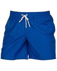 Para Hombre Bañador Bañador Hombre Para Azul Azul wZkPXiuOT
