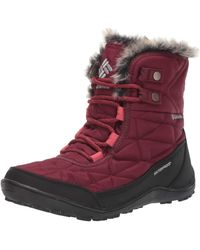 Columbia Minx Shorty Iii Snow Boot - Red