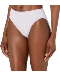 Amazon Essentials Cotton Stretch High-cut Bikini Panty Style Underwear - Multicolor