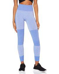 AURIQUE ST0092 Leggings de Sport - Bleu