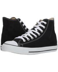 Converse All Star Hi Canvas Sneakers en toile pour adulte - Noir