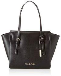Calvin Klein Avant Med Shopper - Nero