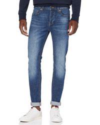 Benetton Basico 1 Skinny Jeans - Blue