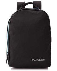Calvin Klein Clash Round Backpack, Sacs à dos - Noir