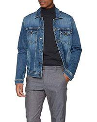 new concept 4c927 d079c Uomo Classic Trucker Giacca in jeans Maniche lunghe - Blu