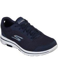 Skechers Go Walk 5-55519 Sneaker - Blau
