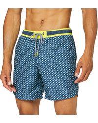 Esprit Bodywear Faros Bay Woven Shorts 42 Cm Combinaison modèle Court - Bleu