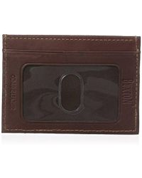 Buxton - Hunt Front Pocket Money Clip Slim Minamalist Wallet - Lyst