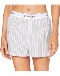 Calvin Klein - Sleep Short Pantalones de Pijama - Lyst