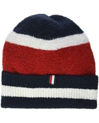 8d7344e4 Tommy Hilfiger Wo Navy Blue Cap With Bow in Blue - Lyst