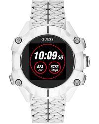 Guess Watches gents connect orologio Digitale Al quarzo con cinturino in Silicone C3001G4 - Multicolore
