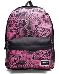 Vans Wm Realm Classic Bac Azalea Pink/van Backpack