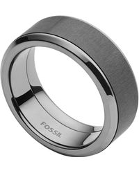 Fossil Black Ring Jf02368793-512
