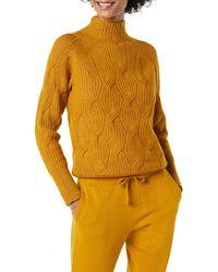 Amazon Essentials Suéter de Cuello Embudo Suave al Tacto - Multicolor