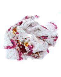 Guess Mika Printed Kefiah Scarf Blush - Pink