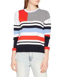 Tommy Hilfiger Pilaux Graphic C-nk Swtr suéter - Multicolor