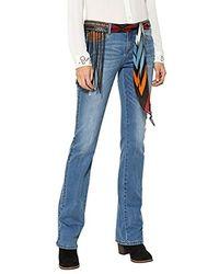 Desigual Denim_Jayne Jeans Bootcut Donna - Blu