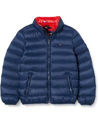 Tommy Hilfiger U Light Down Jacket - Bleu