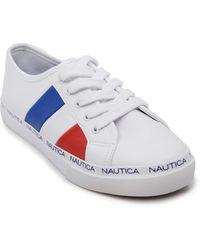 Nautica Up Fashion Sneaker Casual - Blanc