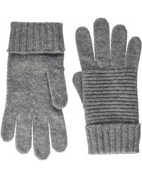 Benetton Guanti 1244d0027 Gloves And Mittens - Grey