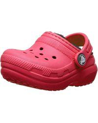 Crocs™ - Classic Lined Clog K - Lyst