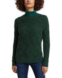 Esprit 110EE1I333 Suéter - Verde
