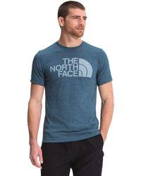 The North Face S/S Half Dome Tri-Blend Tee - Bleu