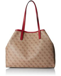Guess Vikky Large Tote Brown - Marron