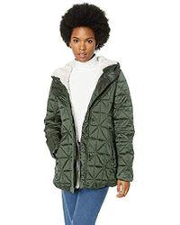 Steve Madden Glacier Shield Parka Jacket Down Alternative Coat - Green