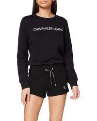 Calvin Klein Embroidery Regular Short - Schwarz