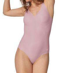 Sloggi Zero Feel Body Ex Bodysuit - Purple