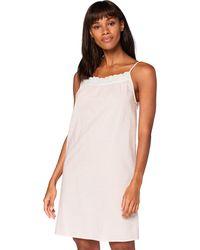 Iris & Lilly Sleeveless Cotton Nightdress - Pink