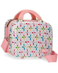 Pepe Jeans Neceser ABS adaptable a trolley Tina - Multicolor