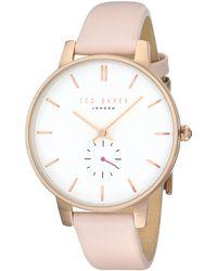 Ted Baker Watch Classic Watch Quartz Mineral Crystal TE50660002 TE50660002 - Bianco