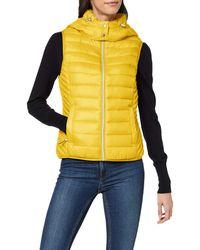 Esprit 010ee1h302 Outdoor Gilet - Yellow