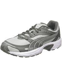 PUMA Axis, Chaussures de Fitness Mixte, Gray Violet-Ultra Gray White, 43 EU - Gris