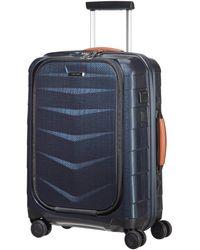 Samsonite Biz - Spinner with USB Port Bagage cabine 55 Centimeters 37 - Bleu