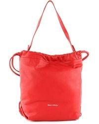 Marc O'polo Samba Hobo Bag M Lipstick Red - Rouge