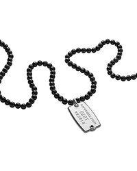 DIESEL Collana Uomo Gioielli Beads Trendy cod. DX1133040 - Metallizzato