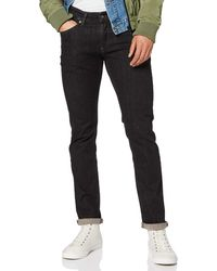 Tommy Hilfiger SLIM SCANTON DYFBST Slim Jeans Schwarz (Dynamic FADED BLACK Stretch 911) W31/L32
