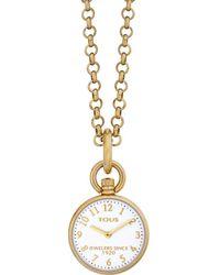 Tous Taschenuhren für Männer 351585 - Mettallic